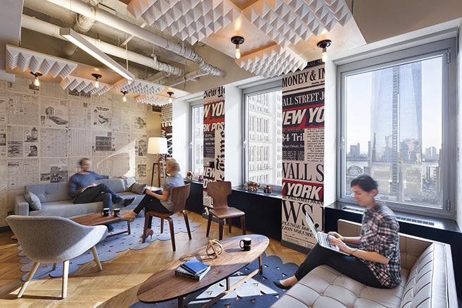 WeWork–纽约城市管理办公室