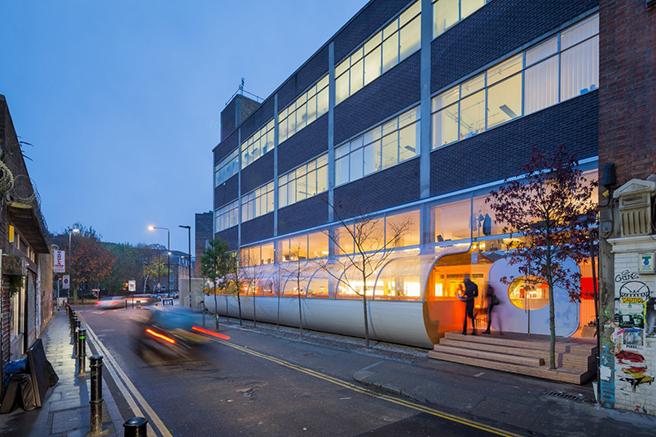 伦敦Second Home共享办公空间