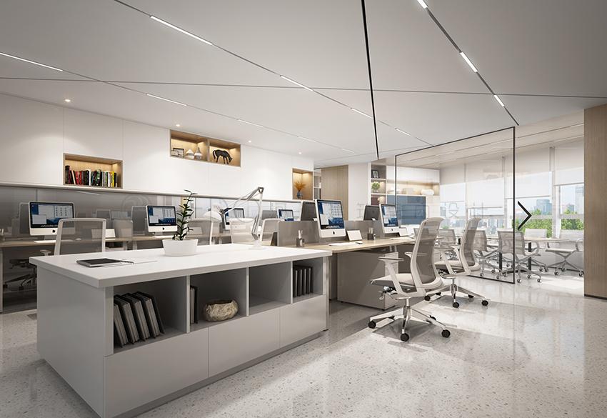 办公空间设计:简析如何做好室内照明