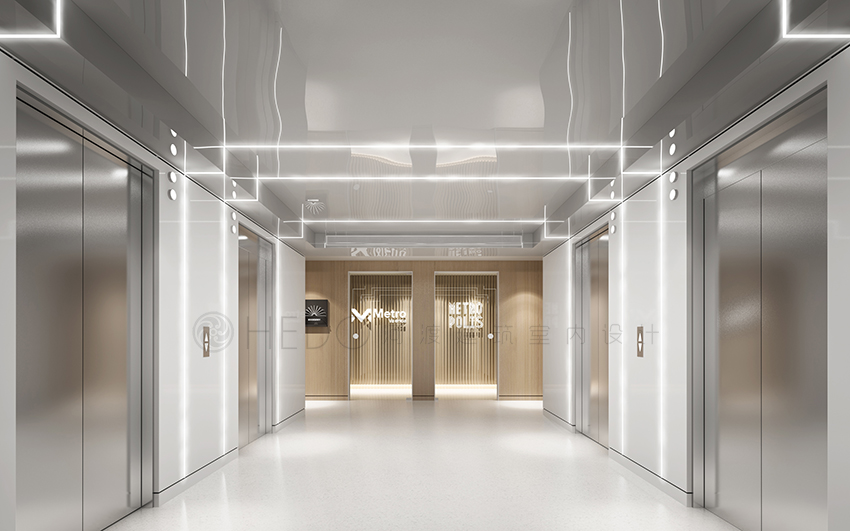 办公室设计空间配色不超过三种