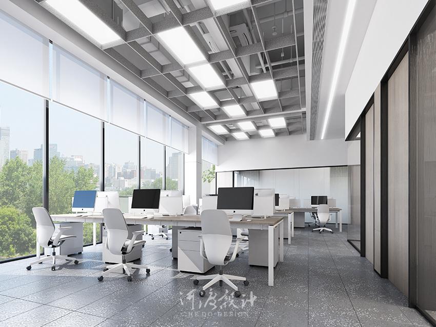 办公室设计中的墙面造型