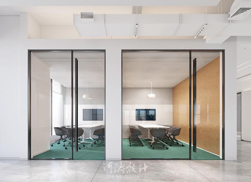办公室设计减少压迫感